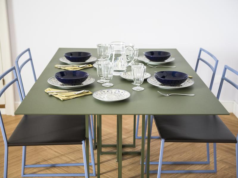 Cristalda dettagli tavola - camera excutive- Dimora Cumma Marì - bed e breakfast a Vieste sul Gargano