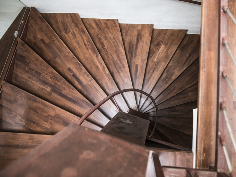 Dettaglio scale - Dimora Cummà Marì - bed e breakfast a Vieste sul Gargano
