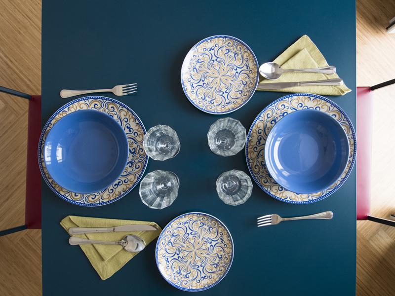La marina dettagli tavola - camera deluxe - Dimora Cumma Marì - bed e breakfast a Vieste sul Gargano