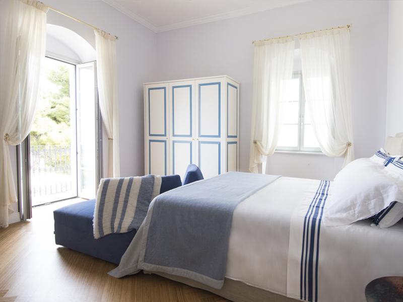 La marina letto - camera deluxe - Dimora Cumma Marì - bed e breakfast a Vieste sul Gargano
