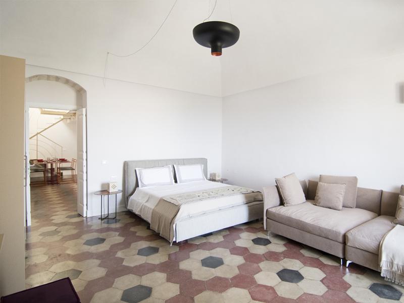 Mustazzuoli camera da letto - Dimora Cummà Marì - bed e breakfast a Vieste sul Gargano