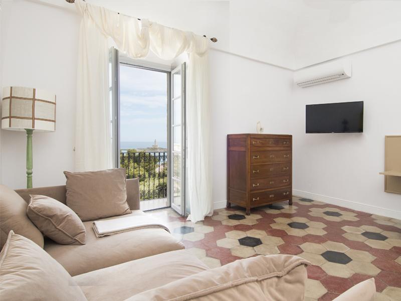 Mustazzuoli camera e vista - camera suite - Dimora Cummà Marì - bed e breakfast a Vieste sul Gargano