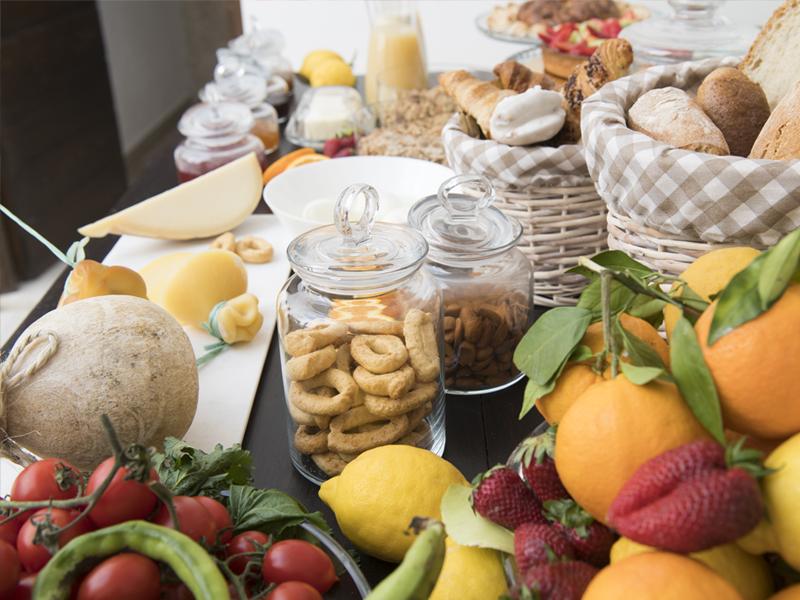Taralli a colazione - Dimora Cumma Marì - beb a vieste nel centro storico